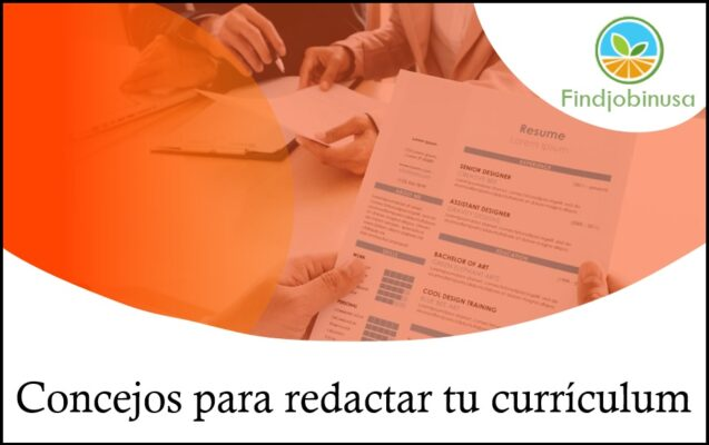 consejos para redactar tu currículum