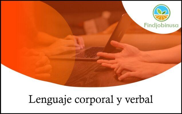 lenguaje corporal y verbal