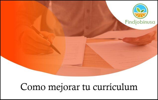 mejorar tu currículum